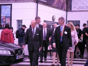 HRH The Duke of Edinburgh Visits Padstow