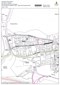 Temporary Road Closure - High Street