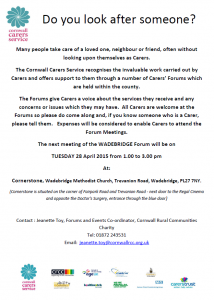 Cornwall Carers Service