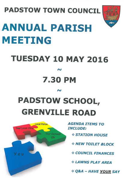 Annual Parish Meeting 2016